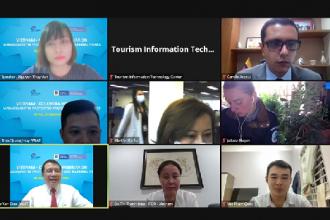 VQG Phong Nha – Kẻ Bàng tham dự Hội thảo trực tuyến